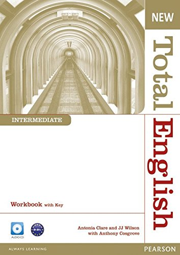New Total English Intermediate Workbook with Key and Audio CD Pack