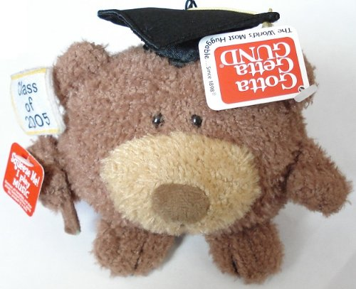 Class of 2005 Graduation Bear Plush with Music