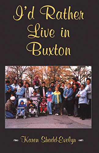 I'D Rather Live In Buxton front-286523