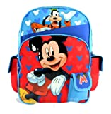 Mickey & Goofy Backpack | 16in Large School Bag | @ Sunset Jungle