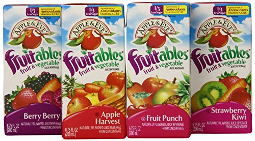 Apple & Eve Fruitables Variety Pack, 6.75 Fl. Oz. - 32 Count front-887392