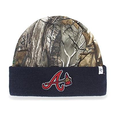 MLB '47 Foxden Camo Cuff Beanie Knit Hat