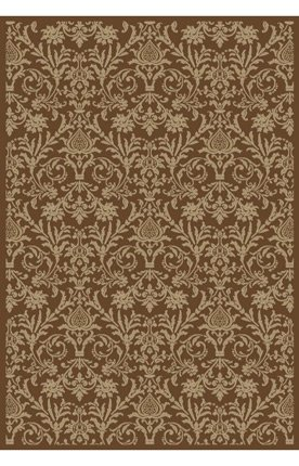 Concord Jewel Damask Brown 2'7