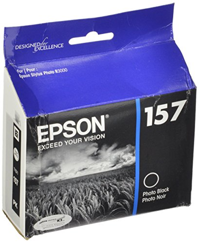 Epson UltraChrome K3 157 Inkjet Cartridge T157120 Photo Black