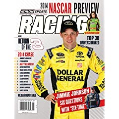 Buy 2014 Athlon Sports NASCAR Racing Preview Magazine- Matt Kenseth Danica Patrick Cover by Athlon Sports Collectibles