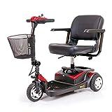 """Buzzaround Lite 3 Wheel Scooters Seat Size: 15"""" W x 14"""" D"""