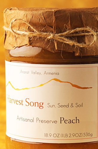 Harvest Song Gourmet 100% Natural Preserve Peach,