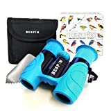 Kids Binoculars High-Resolution Set 8x21 - Bird Watching - Educational Learning - Birthday Gift- Hunting - Outdoor Camp - ( Rubber Shock Proof and Prism Coating )