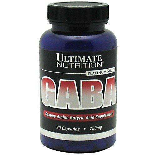 GABA Gamma Amino Butyric Acid 750 mg 90 Caps