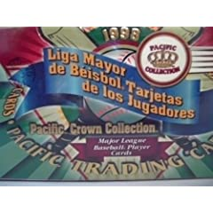 1998 Pacifc Crown Collection MLB Unopened Sealed Box 36 Packs in Spanish!