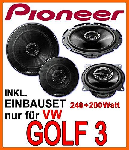 VW-Golf-3-Lautsprecher-Lautsprecherset-Pioneer-Front