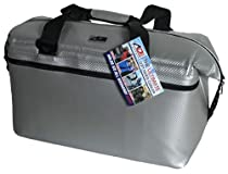 A O Coolers Carbon Cooler, Silver, 12-Pack
