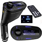 Car Kit MP3 Player Wireless Audio FM...
