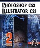 echange, troc Viviane Garrigos, Morgan Gautraud - Le Bourhis, Thierry OLLIVIER - Photoshop CS3 et Illustrator CS3 - Coffret de 2 livres