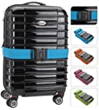 Koffergurt Gepäckgurt Gepäckband Kofferriemen Kofferband Zahlenschloss