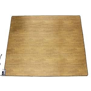 木目調 電気カーペット 3畳 (B287)