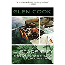 Star's End: Starfishers, Book 3 (       UNABRIDGED) by Glen Cook Narrated by Oliver Wyman