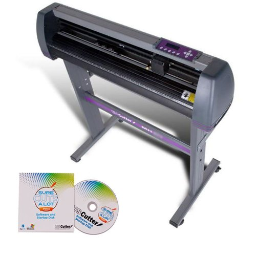 USCutter 34-inch Vinyl Cutter Plotter with Stand and SCAL Pro - New Design and Cut Software