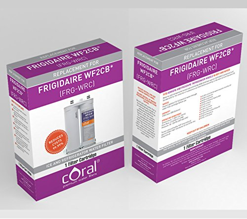 Frigidaire WF2CB PureSource2 / Electrolux EWF2CBPA PureAdvantage / Kenmore 46-9911 Refrigerator Water Filter Compatible Coral Premium Water Filter (2) (Kenmore Fridge Filter 9911 compare prices)