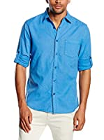 Chiemsee Camisa Hombre Leon (Azul)