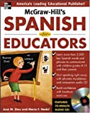 img - for McGraw-Hill's Spanish for Educators w/Audio CD book / textbook / text book