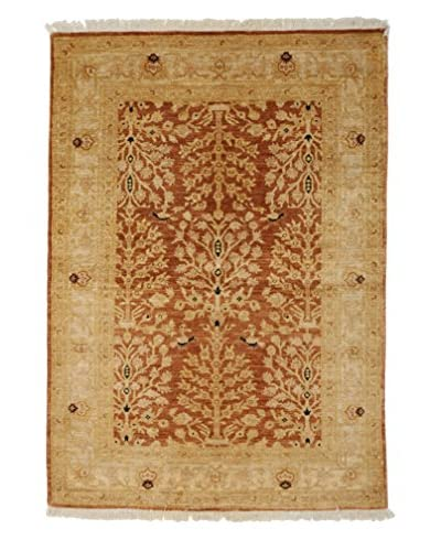 Darya Rugs Traditional Oriental Rug, Red, 4′ x 5′ 9″