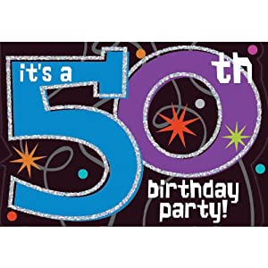 The party continues 50th birthday invitations for 50th birthday decoration packages