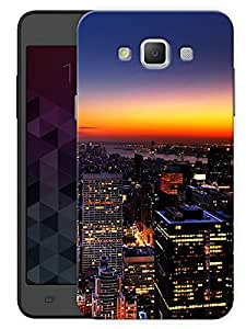 """Humor Gang City Life Printed Designer Mobile Back Cover For """"Samsung Galaxy A7"""" (3D, Matte, Premium Quality Snap On Case)"""