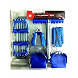 Aurion Combo Of Chest Expander And Tummy Tirmer And Hand Griper And Skipping Rope