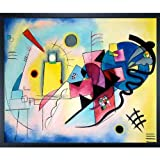 Kandinsky: Jaune Rouge Bleu (Yellow-Red-Blue)