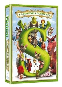 Shrek (Cuatrilogía) - La Historia Completa [DVD]