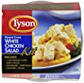 Tyson Premium Chunk White Chicken Salad Kit, 4.57 Ounce (Pack of 12) by Tyson