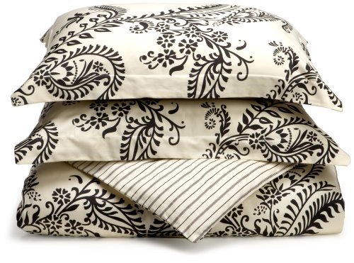 Regency 310-Thread-Count Maxine Stripe Duvet Set