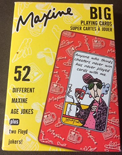 Maxine Big Playing Cards