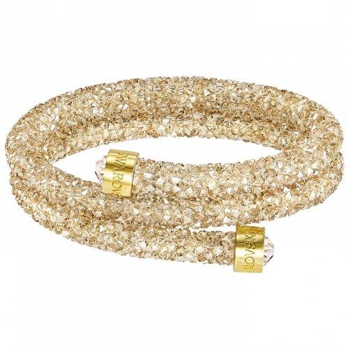Doppio braccialetto Crystaldust Swarovski 5255907 Donne d'oro di cristallo