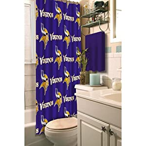 Minnesota Vikings Shower Curtain by Northwest