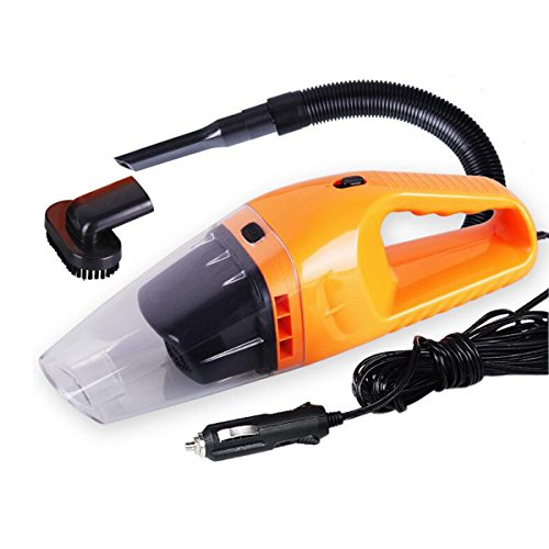 Grikey High Power 100W Wet Dry Car Use Vacuum Cleaner Portable Dust Hand Vacuum Cleaner 12 Volt Orange (Auto Vacume compare prices)