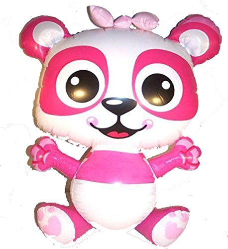 Brand New 24 Inch Pink Panda Novelty Toy Inflatable - 1