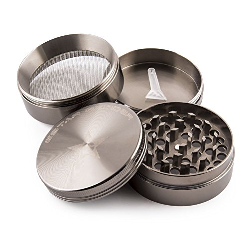 "Buy Discount GSTAR 2"" 4-Stage Tobacco & Herb Grinder - Gun Metal"