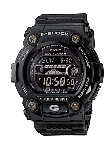 Casio G-shock GW-7900B-1ER Men's Digital Quartz Watch with Black Dial and Black Resin Strap