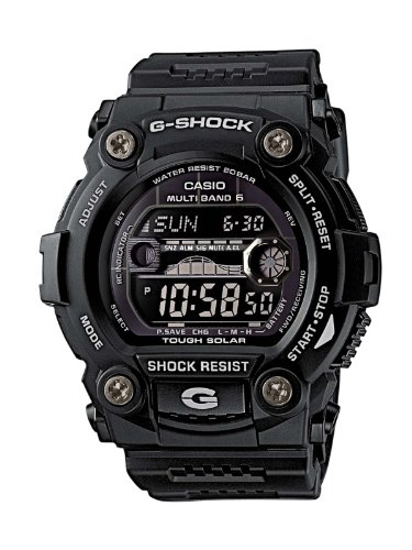 Casio G-shock GW-7900B-1ER Men's Digital Quartz Watch with Black Dial and Black Resin Strap