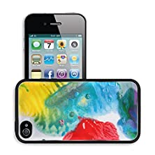 buy Luxlady Premium Apple Iphone 4 Iphone 4S Aluminum Backplate Bumper Snap Case Image Id 31681110 Drops Of Ink On White Background