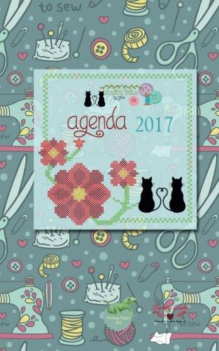 Agenda 2017 cositas lindas by mika: interior blanco y negro