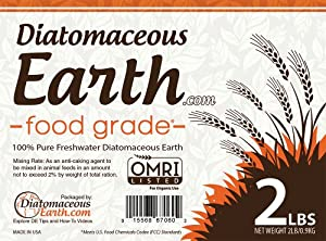 Diatomaceous Earth 2 Lbs Food Grade DE - Includes Free Scoop from DiatomaceousEarth