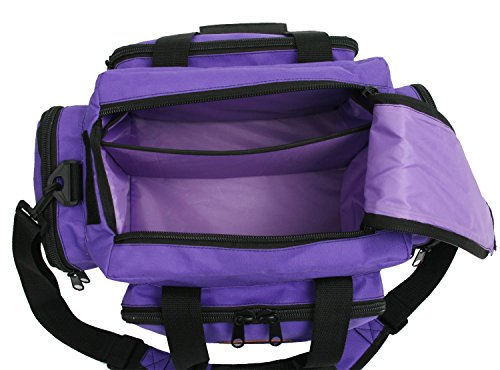 the outdoor connection deluxe range bag purple home