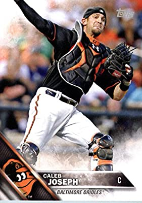 2016 Topps Team Edition #BO-2 Caleb Joseph Baltimore Orioles Baseball Card