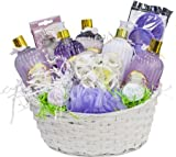 Lavender Gift Basket Luxurious Lavender Spa Gift Basket - Organic Stores