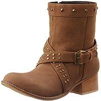 Footin Women's Brown Boots - 5 UK/India (38 EU) (5519901)