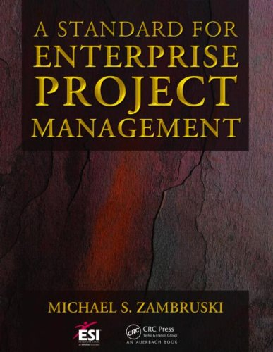 A Standard for Enterprise Project Management (Esi International Project Management)