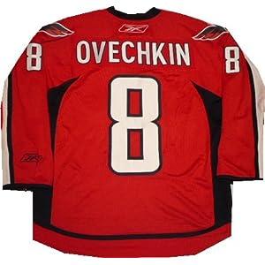 Washington Capitals Alexander Ovechkin Premier Red Assistant Captain Jersey